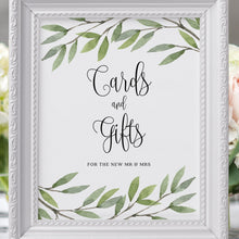 Load image into Gallery viewer, Editable Cards and Gifts Sign - Pearly Paper
