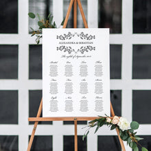 Load image into Gallery viewer, Seating chart Sign - Pearly Paper