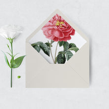 Load image into Gallery viewer, Floral Envelope Liner - Pearly Paper