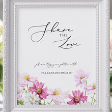 Load image into Gallery viewer, Floral Share the Love Wedding - Pearly Paper