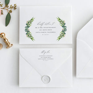 Envelope Address Template - Pearly Paper