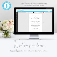 Load image into Gallery viewer, Modern Wedding Advice card Advice - Pearly Paper