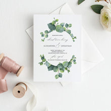 Load image into Gallery viewer, Greenery Wedding rehearsal Dinner - Pearly Paper
