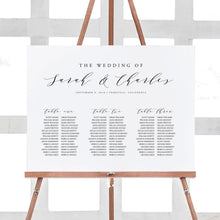 Load image into Gallery viewer, Seating Chart Sign Modern - Pearly Paper