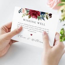 Load image into Gallery viewer, Wishing Well Template Wedding Wishing - Pearly Paper