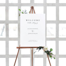 Load image into Gallery viewer, Welcome to our wedding sign - Pearly Paper