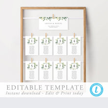 Load image into Gallery viewer, Table Seating Chart Cards - Pearly Paper