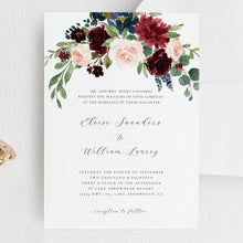Load image into Gallery viewer, Wedding Invite Set DIY wedding - Pearly Paper