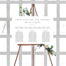 Load image into Gallery viewer, Table seating chart Minimalist - Pearly Paper