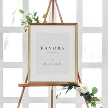 Load image into Gallery viewer, Favors Sign Wedding guests Favors - Pearly Paper