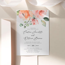 Load image into Gallery viewer, Printable Wedding Invitation Set Invitation - Pearly Paper
