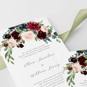 Wedding Invite Set DIY wedding - Pearly Paper