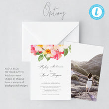 Load image into Gallery viewer, Wedding Invitation Template Printable wedding - Pearly Paper