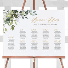 Load image into Gallery viewer, Rustic Seating Chart Sign - Pearly Paper