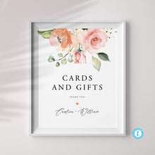 Load image into Gallery viewer, Cards and Gifts Sign Template - Pearly Paper