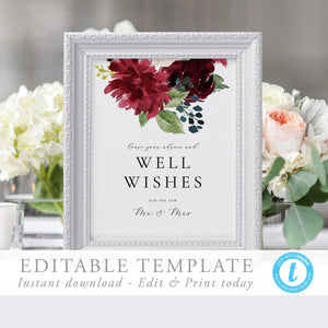 Advice and Well Wishes Sign - Pearly Paper
