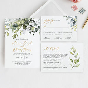 Rustic Wedding Bundle Download Wedding - Pearly Paper