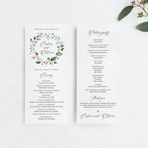 Floral Wedding Bundle Download Wedding - Pearly Paper