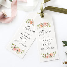 Load image into Gallery viewer, Reserved Seating Tags Floral - Pearly Paper