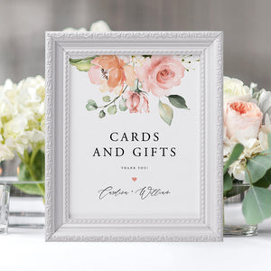 Cards and Gifts Sign Template - Pearly Paper
