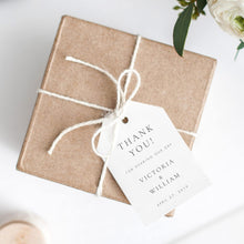 Load image into Gallery viewer, Wedding Tag Template Modern Tag - Pearly Paper