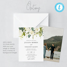 Load image into Gallery viewer, Rustic Wedding Invitation Template Boho - Pearly Paper