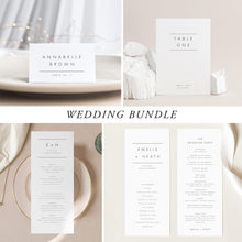 Load image into Gallery viewer, Modern Wedding Bundle Download - Pearly Paper