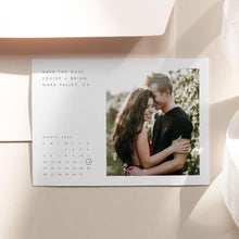 Load image into Gallery viewer, Minimalist Calendar Save the Date - Pearly Paper