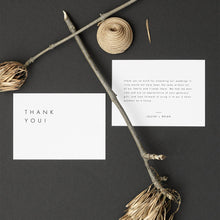 Load image into Gallery viewer, Minimalist Thank You Note - Pearly Paper