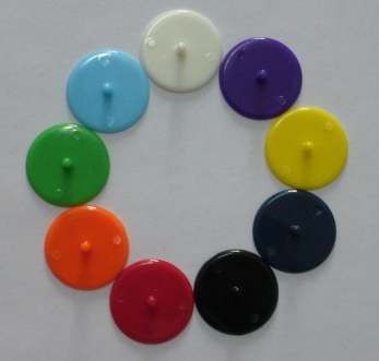 Mixed Color Ball Markers (Per 50 Pack)