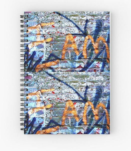 I Am Spiral Notebook by TME Creative