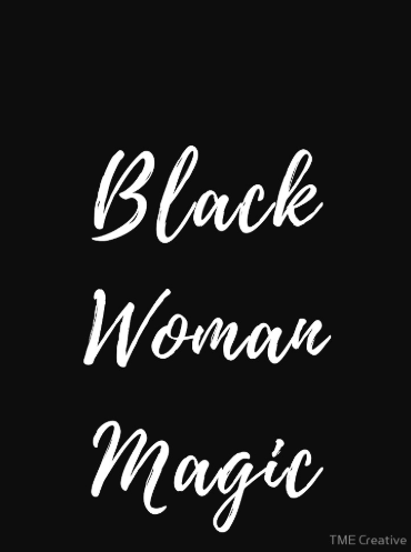 Black Woman Magic Tank by TME Creative