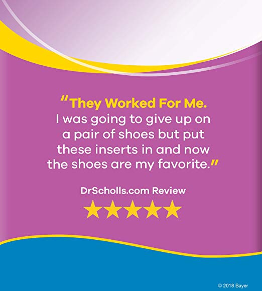 Dr. Scholl's Stylish Step High Heel Relief Insoles, 1 Pair, Size 6 10