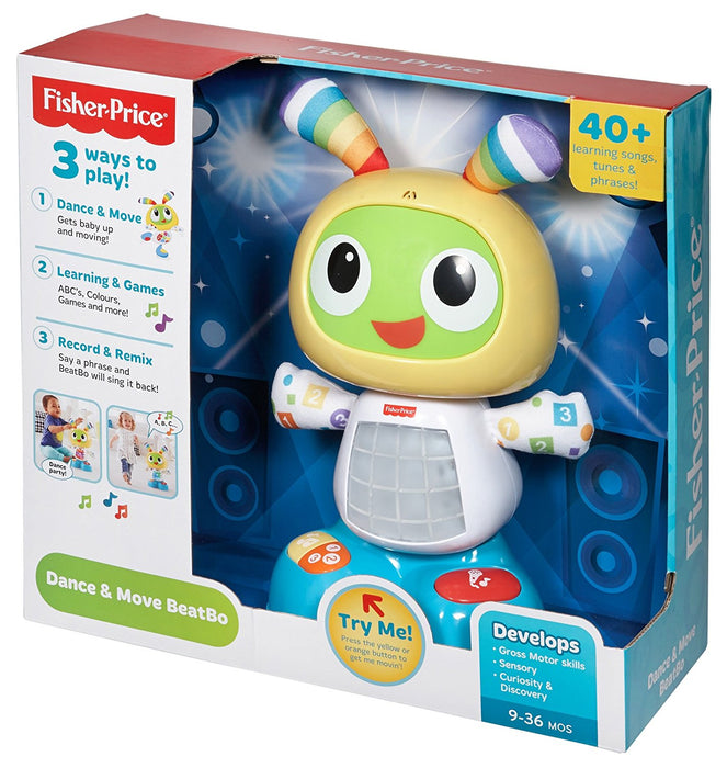 Verwonderlijk Fisher-Price CGV43 Dance and Move Beatbox, Baby Robot Learning Toy EQ-43