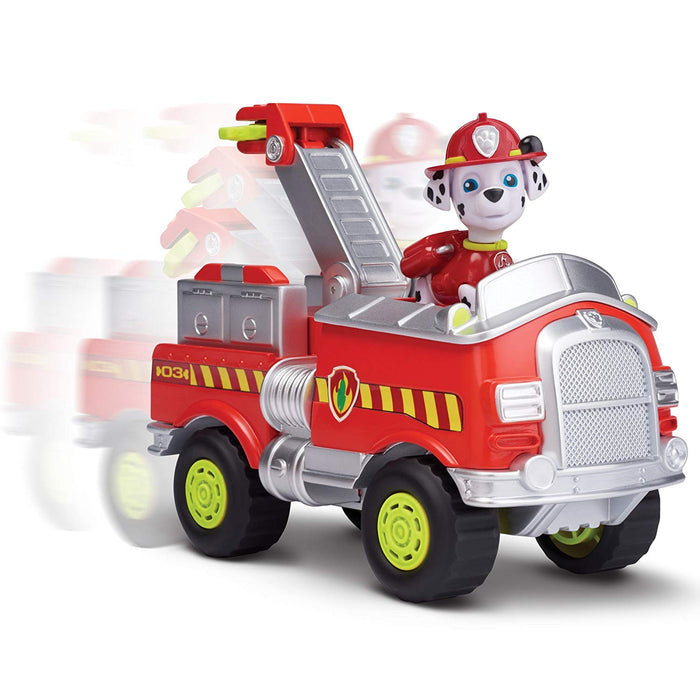 Paw Patrol Marshall S Forest Fire Truck Vehicle Figure