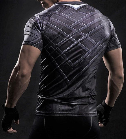 BLACK PANTHER Gym T-shirt