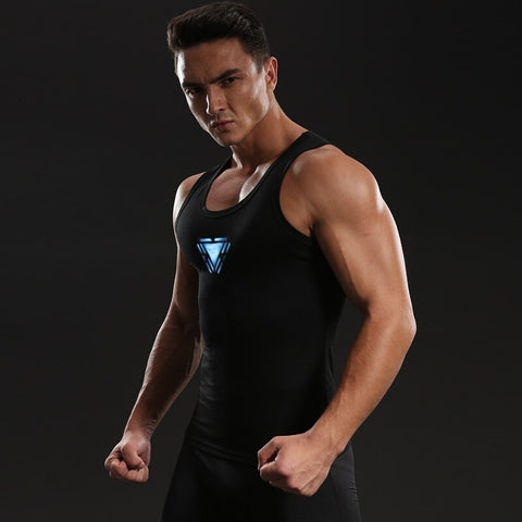 IRON MAN Gym tank top