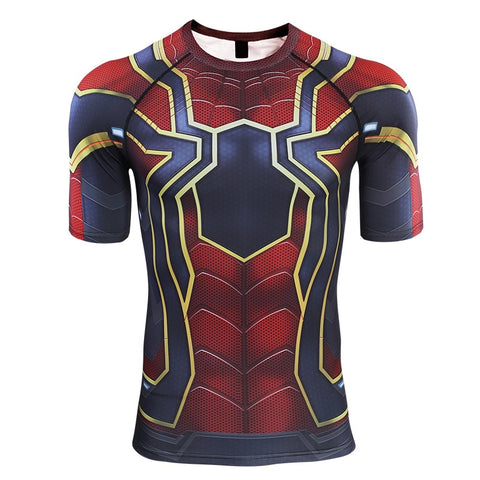 SPIDERMAN Gym T shirt