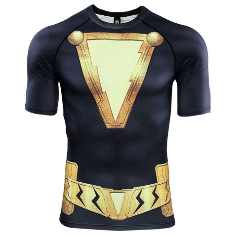 BLACK ADAM Gym T Shirt