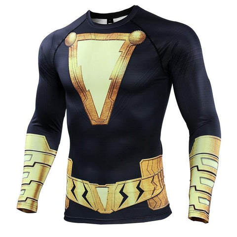 BLACK ADAM Gym Shirt