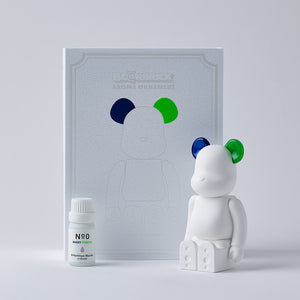 BE@RBRICK AROMA ORNAMENT No.0 COLOR W-DOUBLE- NAVY GREEN