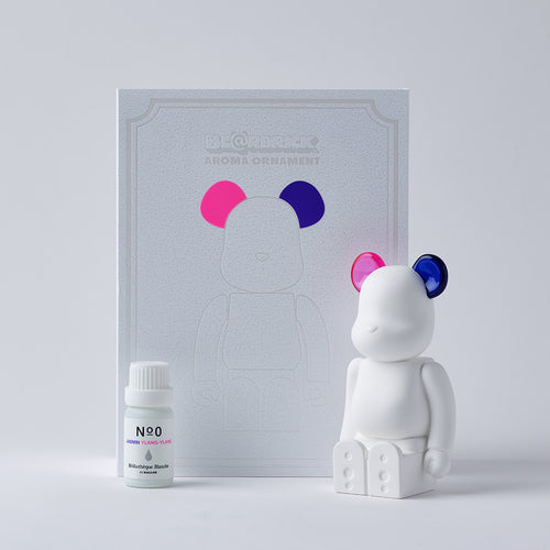 BE@RBRICK AROMA ORNAMENT No.0 COLOR W-DOUBLE- PINK PURPLE