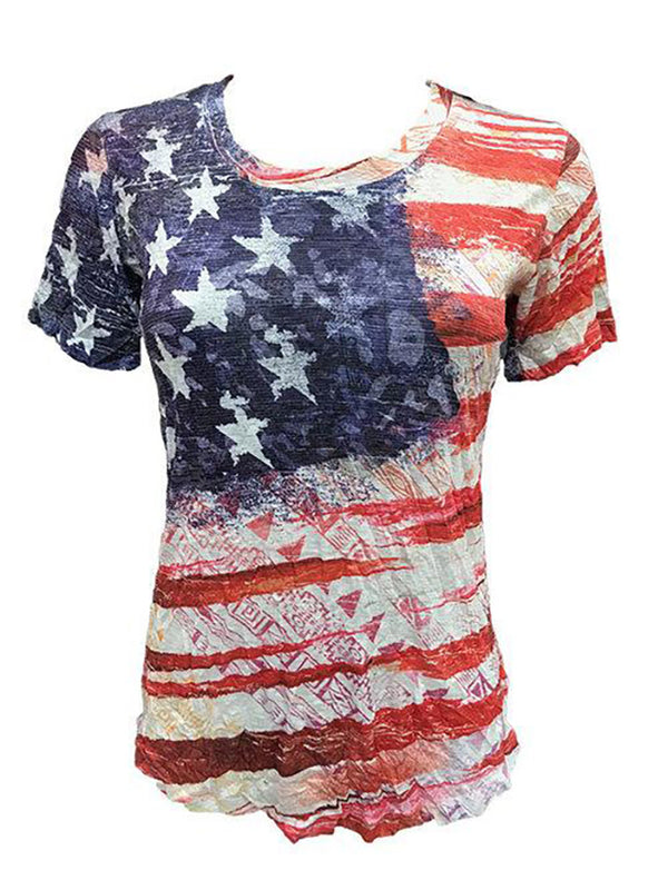 Crushed Flag Tee