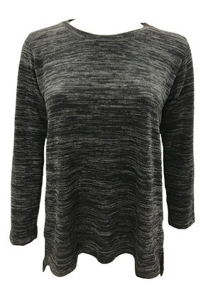 Black Tunic Crew Neck