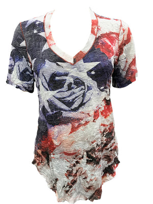 Crushed Freedom V-Neck