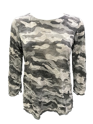 Crushed Merrow Edge Camo Crew