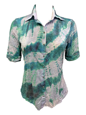 Crushed Short Sleeve Surf Shirt