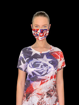 American Flag Face Mask #3
