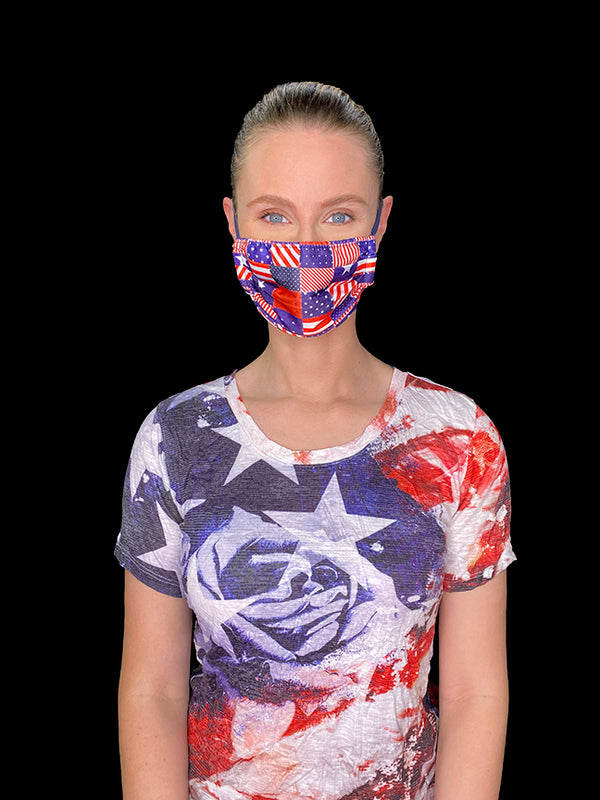 American Flag Face Mask #4