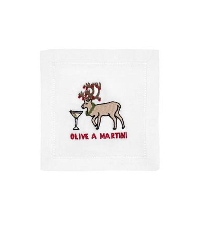 August Morgan Cocktail Napkins